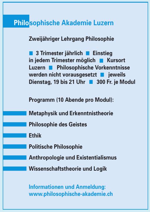 Philosophische Akademie Luzern