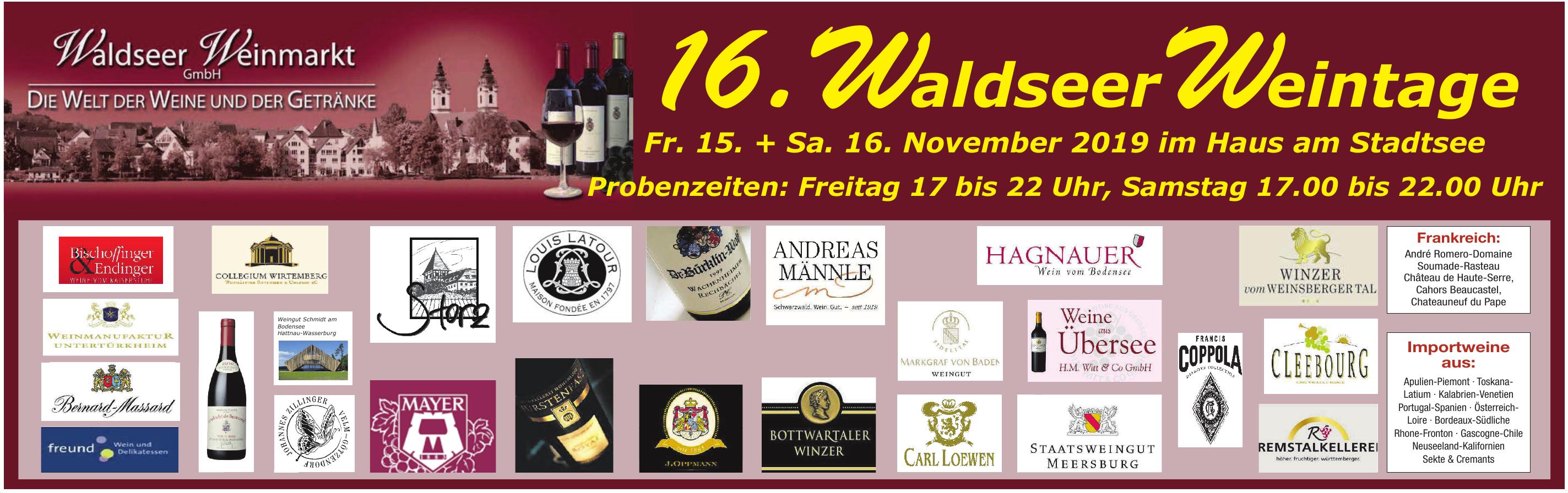 16. Waldseer Weintage