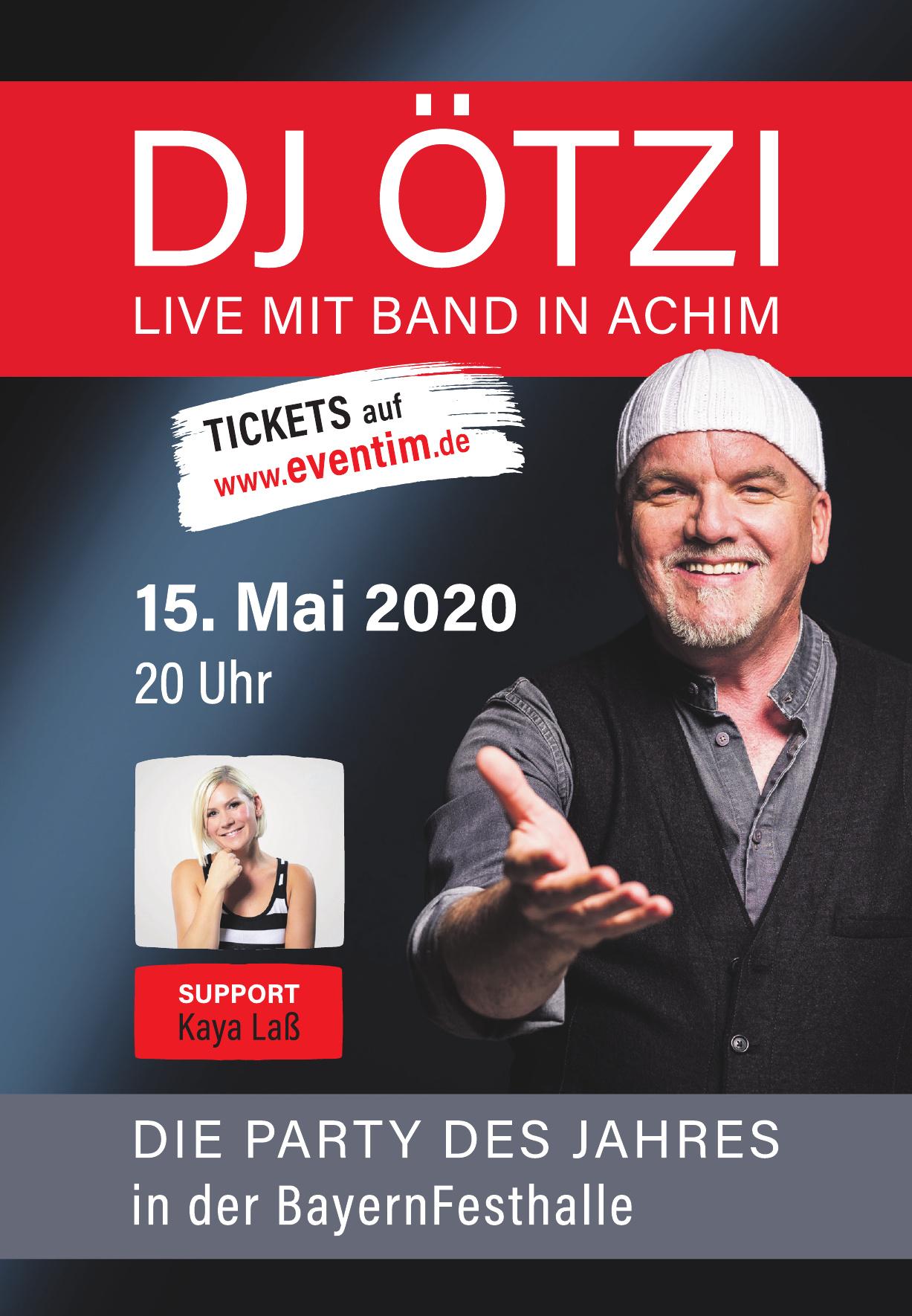 DJ Ötzi Live mit Band in Achim