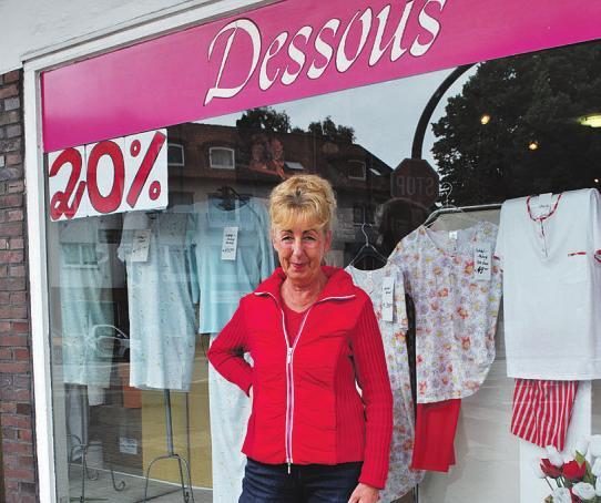 """Doris Heise schließt nach 26 Jahren ihr Geschäft """"Der Wäschetraum"""" Fotos: Tina Jordan"""