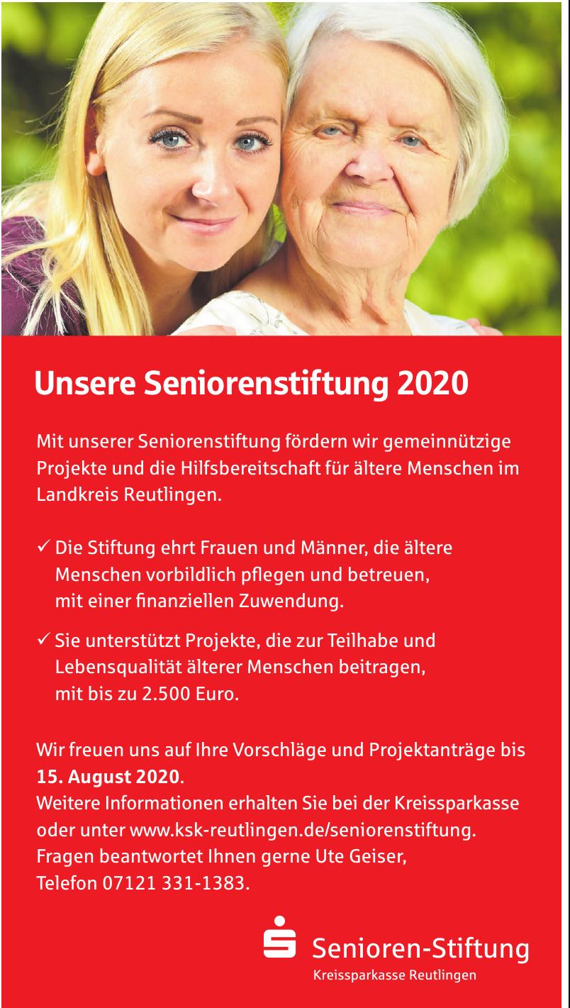 Kreissparkasse Reutlingen Senioren-Stiftung