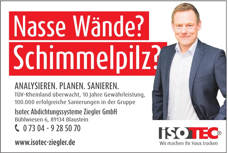Isotec Abdichtungssysteme Ziegler GmbH