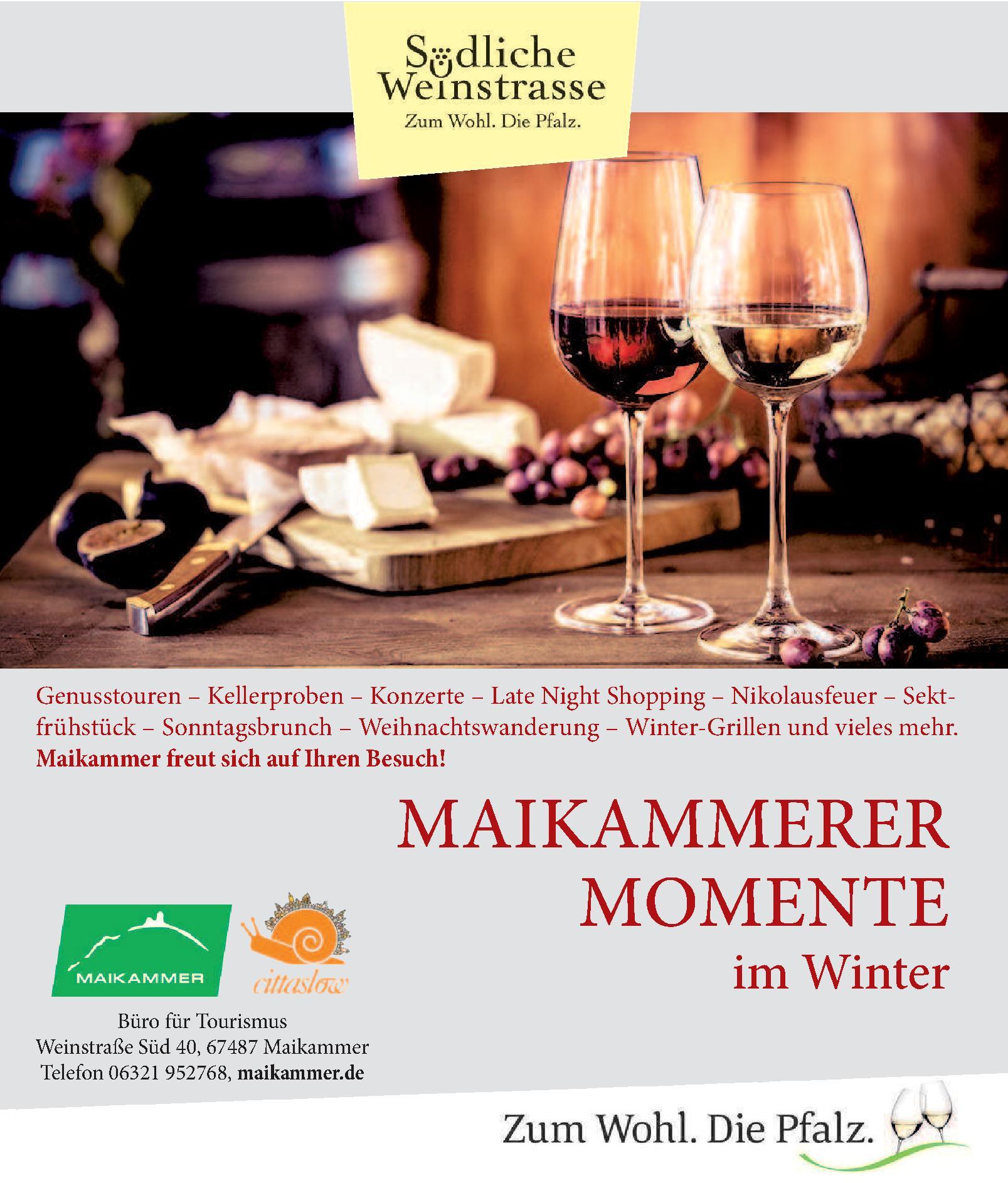 Maikammerer Momente im Winter