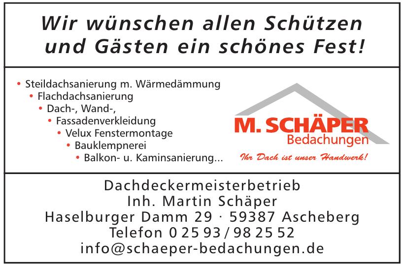 M. Schäper Bedachungen