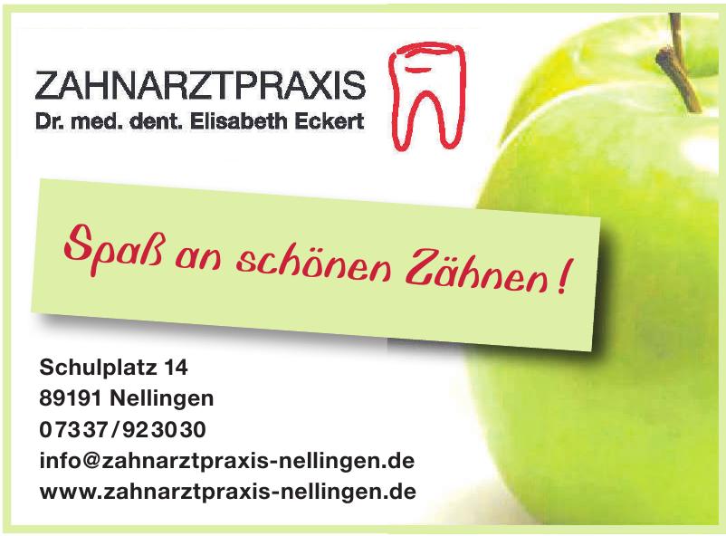Zahnarztpraxis - Dr. med. dent. Elisabeth Eckert