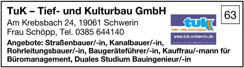 TuK – Tief- und Kulturbau GmbH
