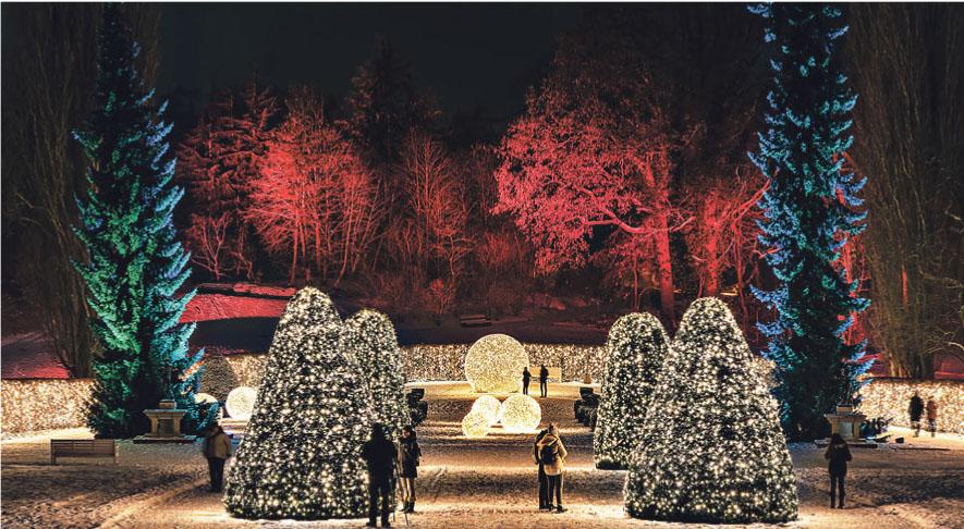 Schloss & Park Pillnitz verwandeln sich bereits im zweiten Jahr in Folge in den Christmas Garden Dresden