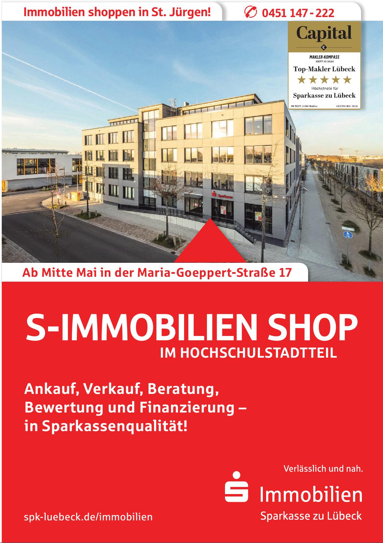 Sparkasse zu Lübeck - Immobilien