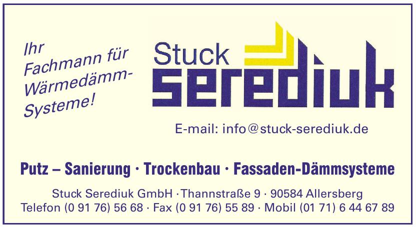 Stuck Serediuk GmbH
