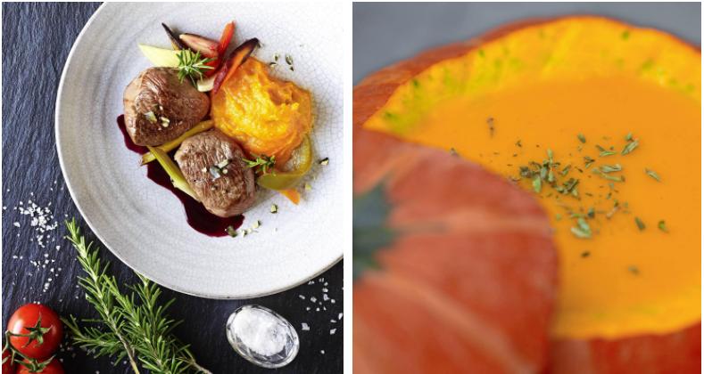 Ob Püree oder Suppe: der beliebteste Speisekürbis ist der Hokkaido. Fotos: dpa