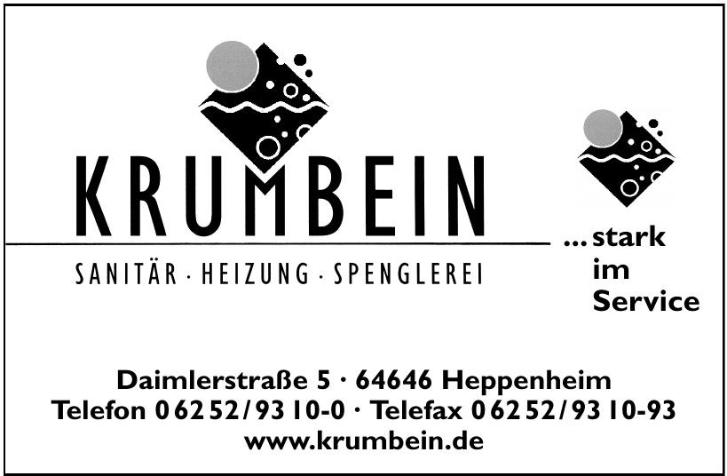 Krumbein Sanitär