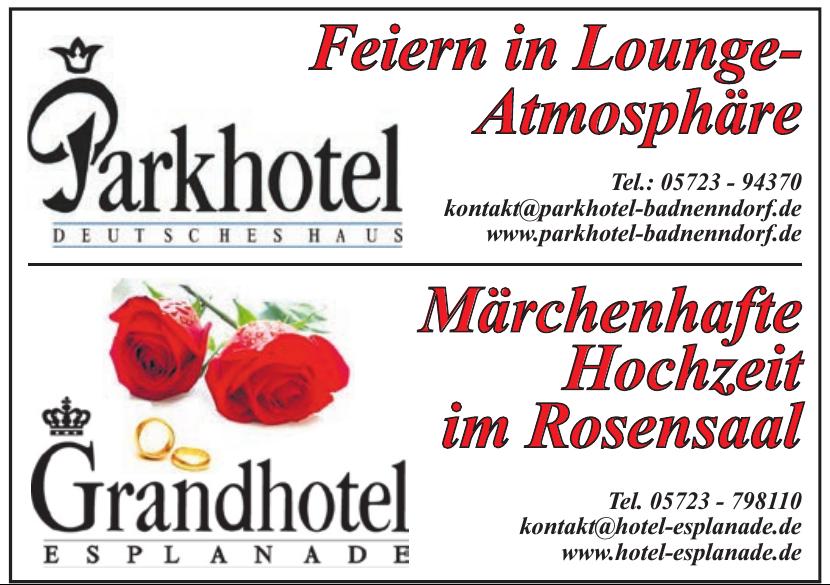 Parkhotel Deutsches Haus Badnenndorf