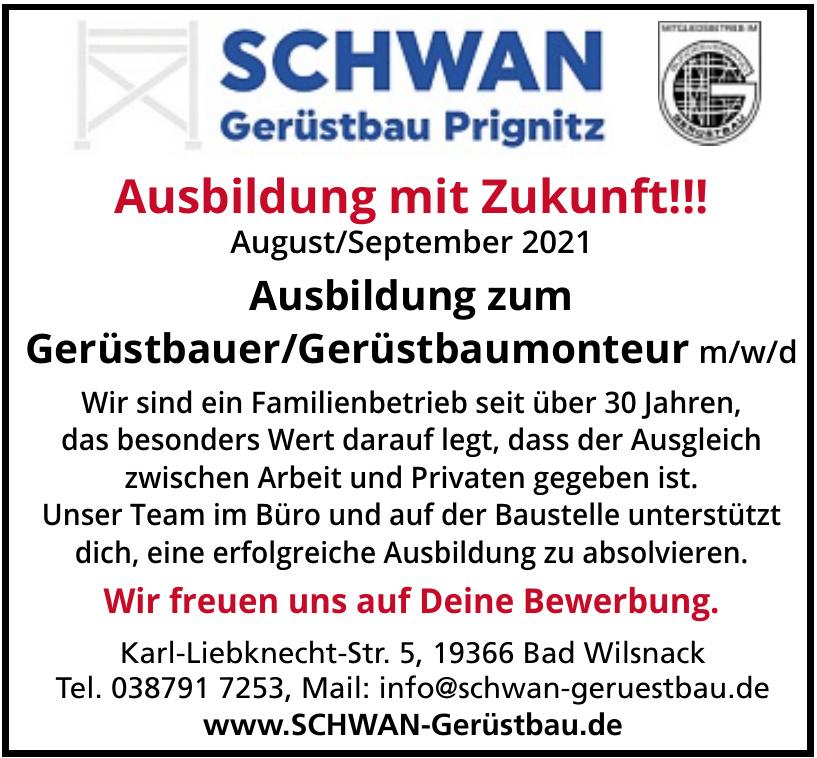 Schwan Gerüstbau Prignitz