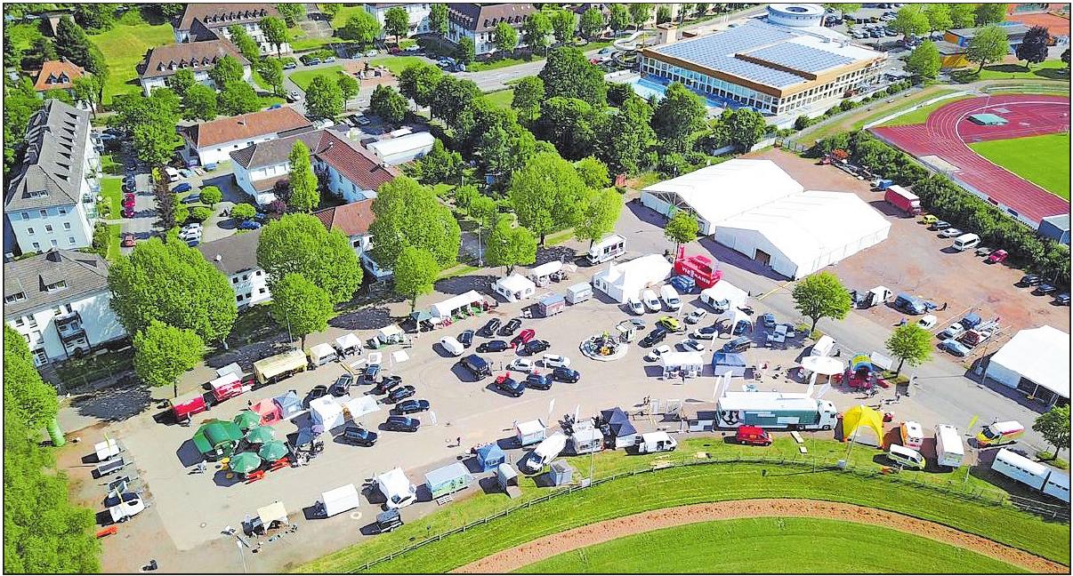 """Bei der """"Messe2brücken"""" von 17. bis 19. Mai gibt es neben dem Freigelände nur noch ein großes Ausstellungszelt. FOTO: CONZELMANN/FREI"""