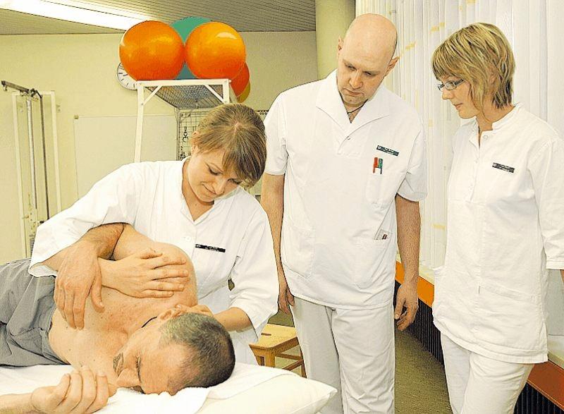 Praxisorientiert: die Ausbildung an der PT Akademie. FOTO: BG/FREI