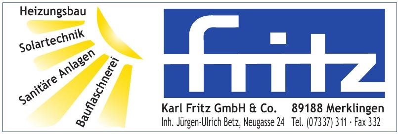 Karl Fritz GmbH & Co.