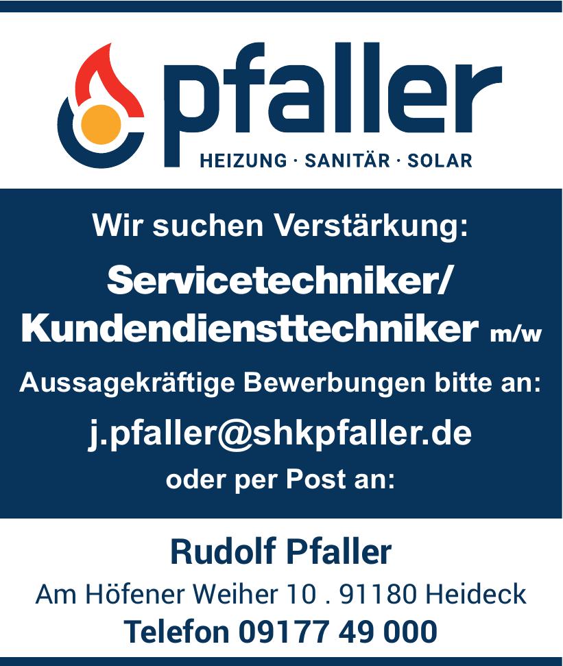 Rudolf Pfaller