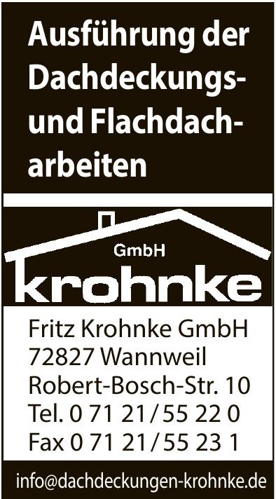 Fritz Krohnke GmbH