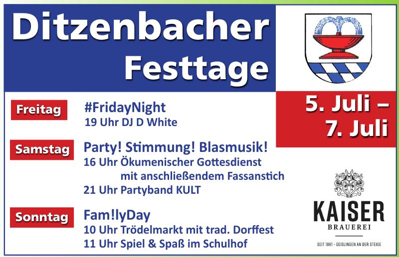 Ditzenbacher Festtage
