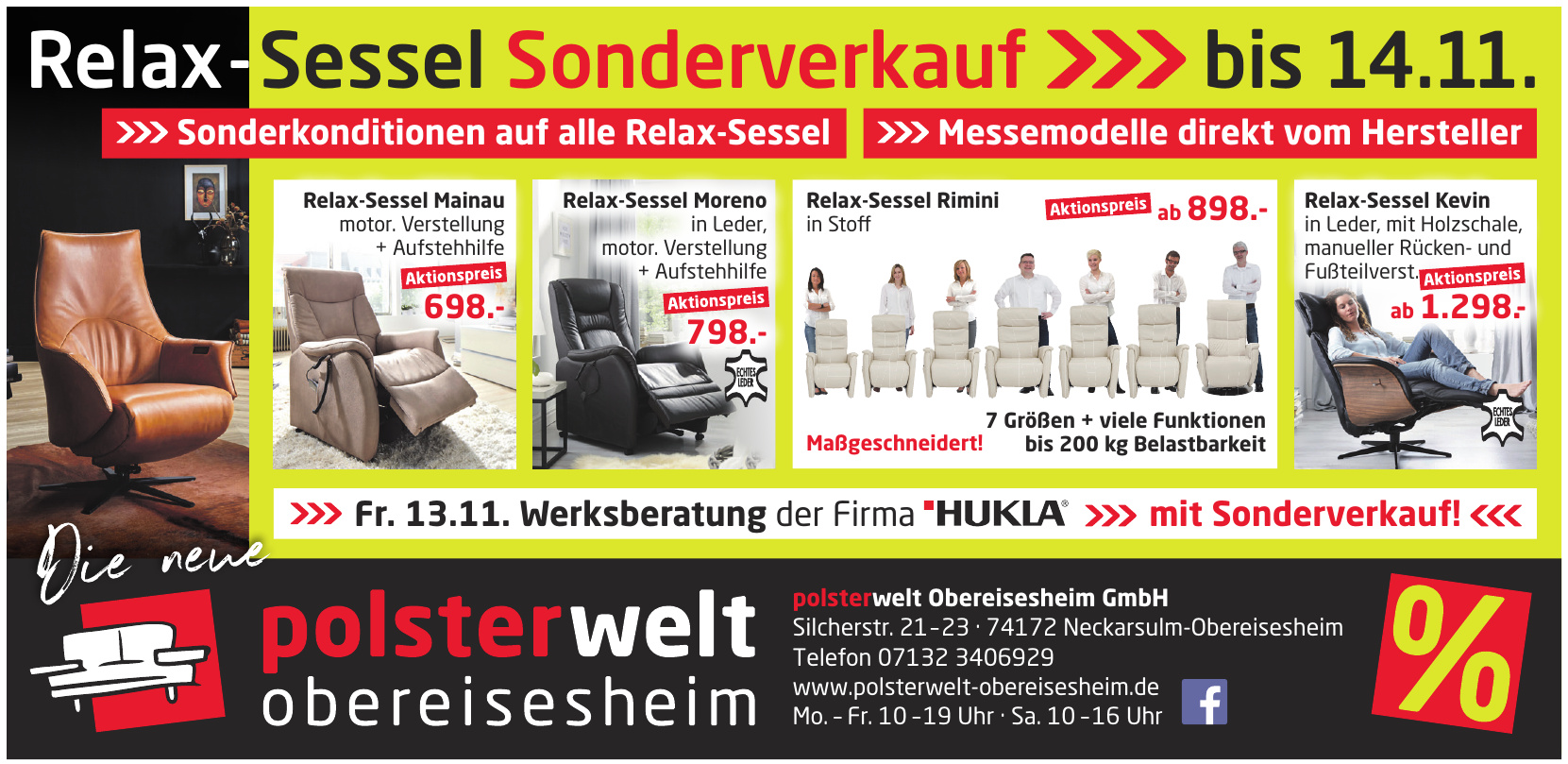 polsterwelt Obereisesheim GmbH