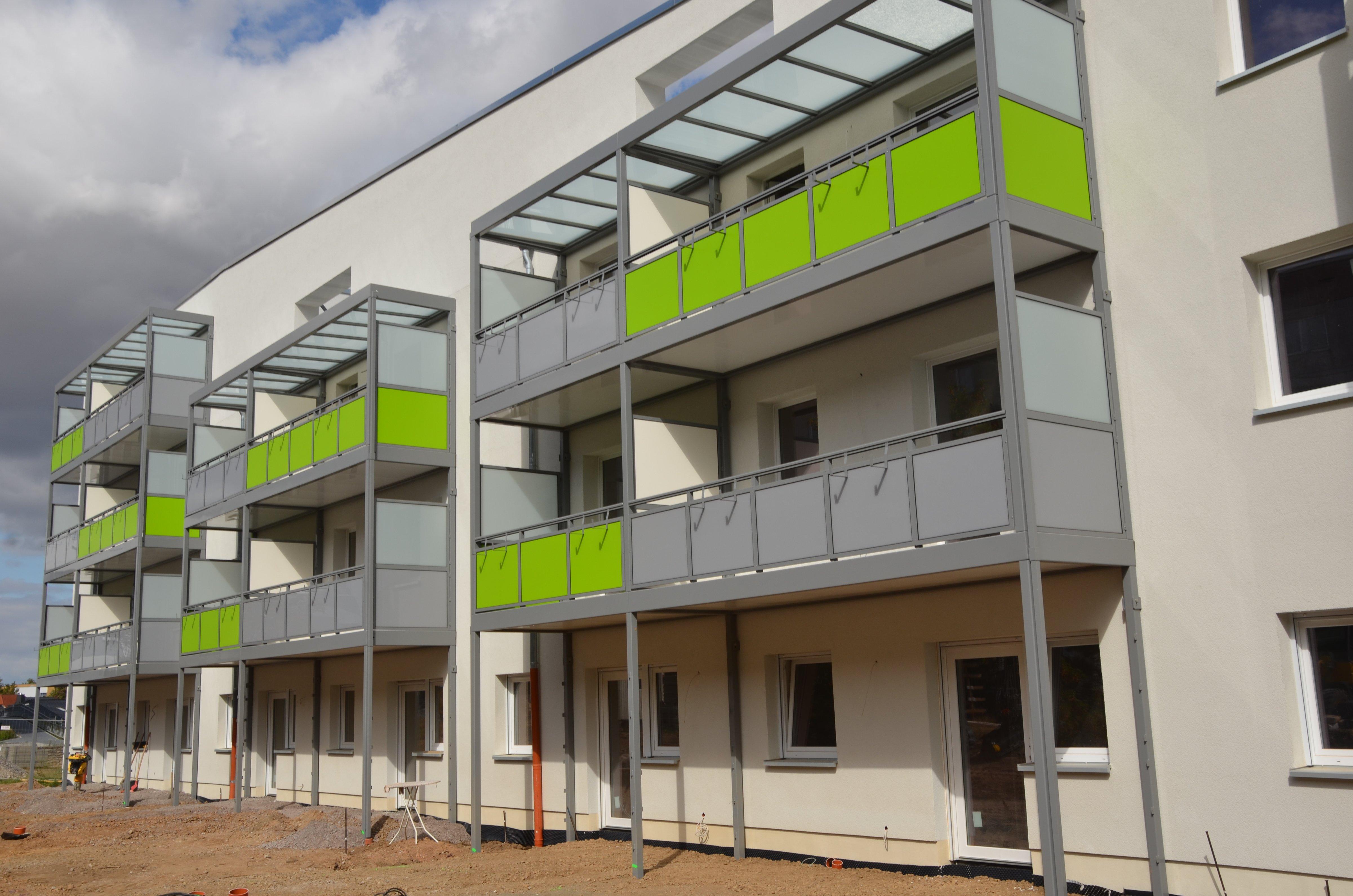 Echtes Vorzeigeobjekt: In den Umbau des Hauses Ahornweg 4-7 fließen derzeit rund 2,6 Millionen Euro.
