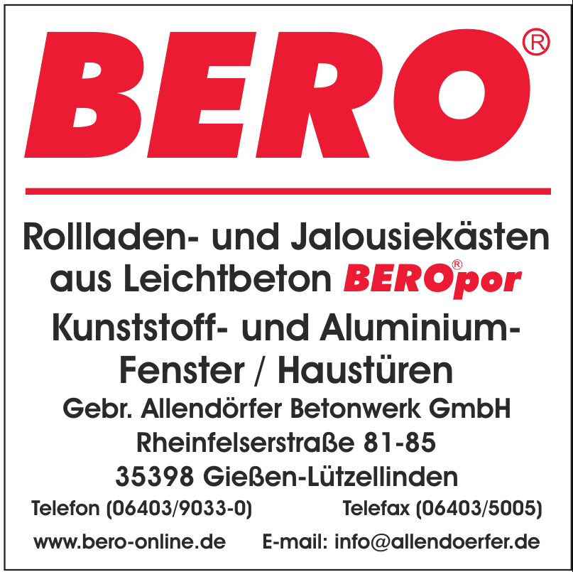 Bero Gebr. Allendörfer Betonwerk GmbH