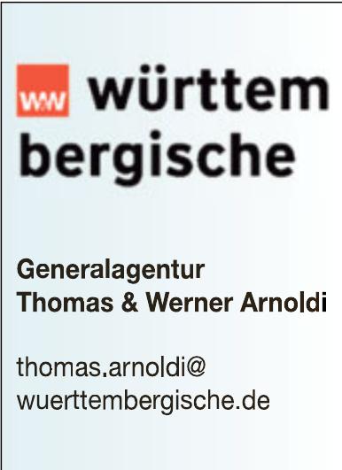 W&W Württembergische - Generalagentur Thomas & Werner Arnoldi