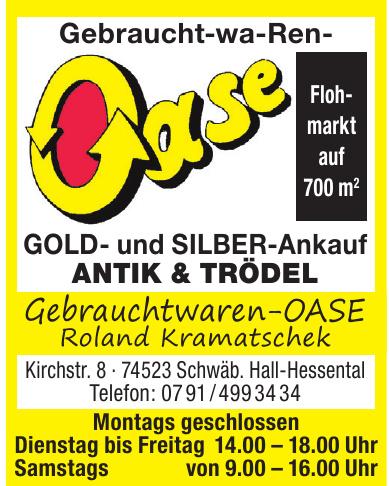 Gebrauchtwaren-Oase Roland Kramatschek