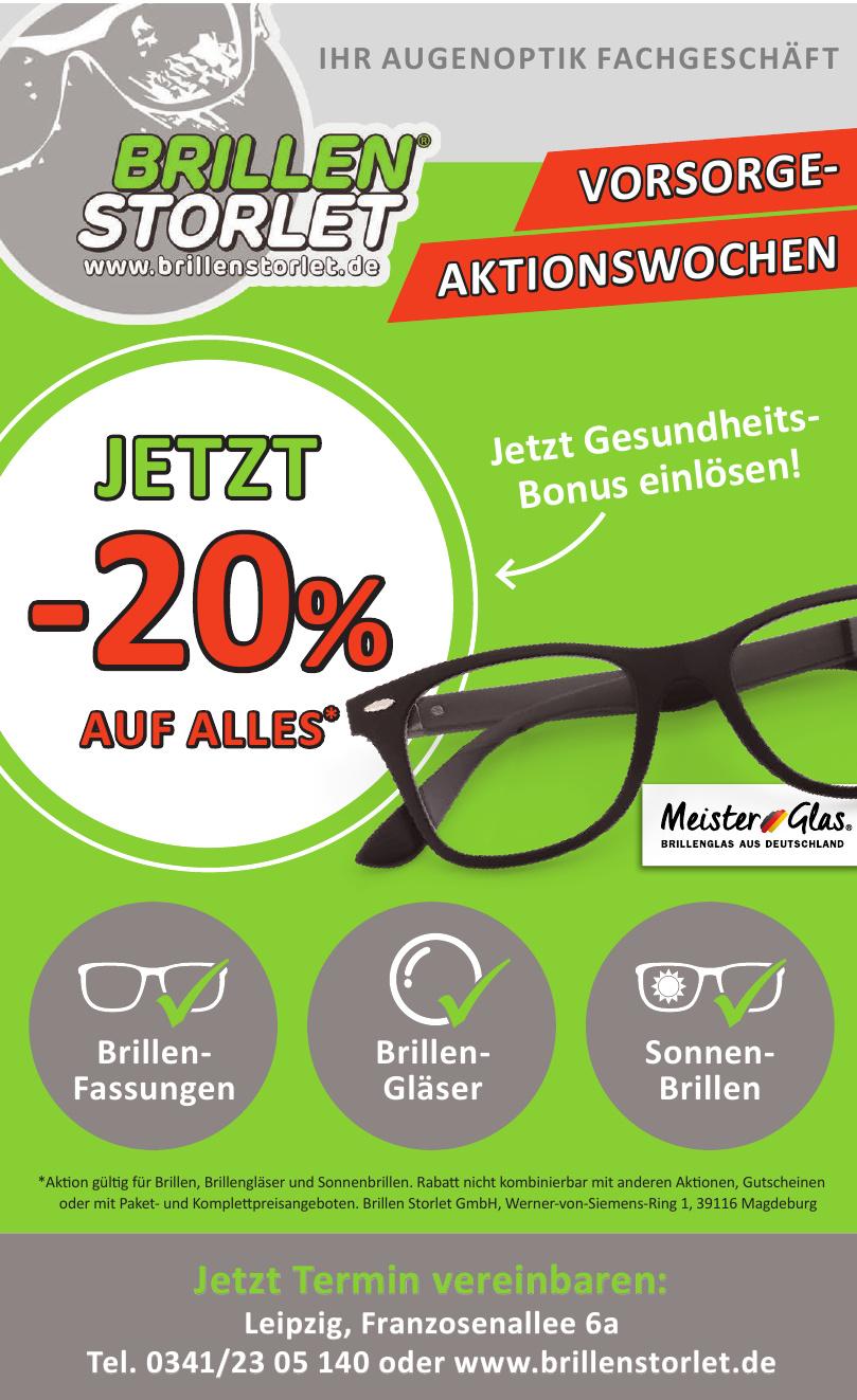 Brillen Storlet