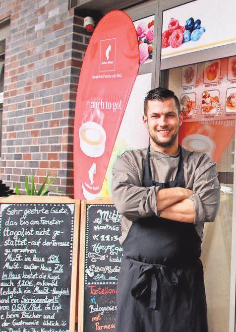 Bei Sascha Bock vom Bistro Sabo gibt es am Sonntag zehn Prozent Rabatt auf alle warmen Gerichte.