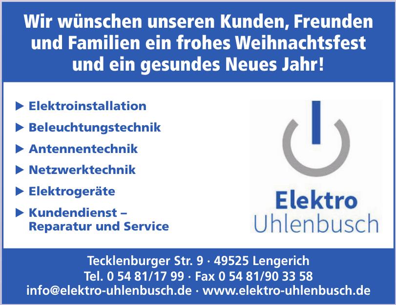 Elektro Uhlenbusch - Inh. M. Uhlenbusch
