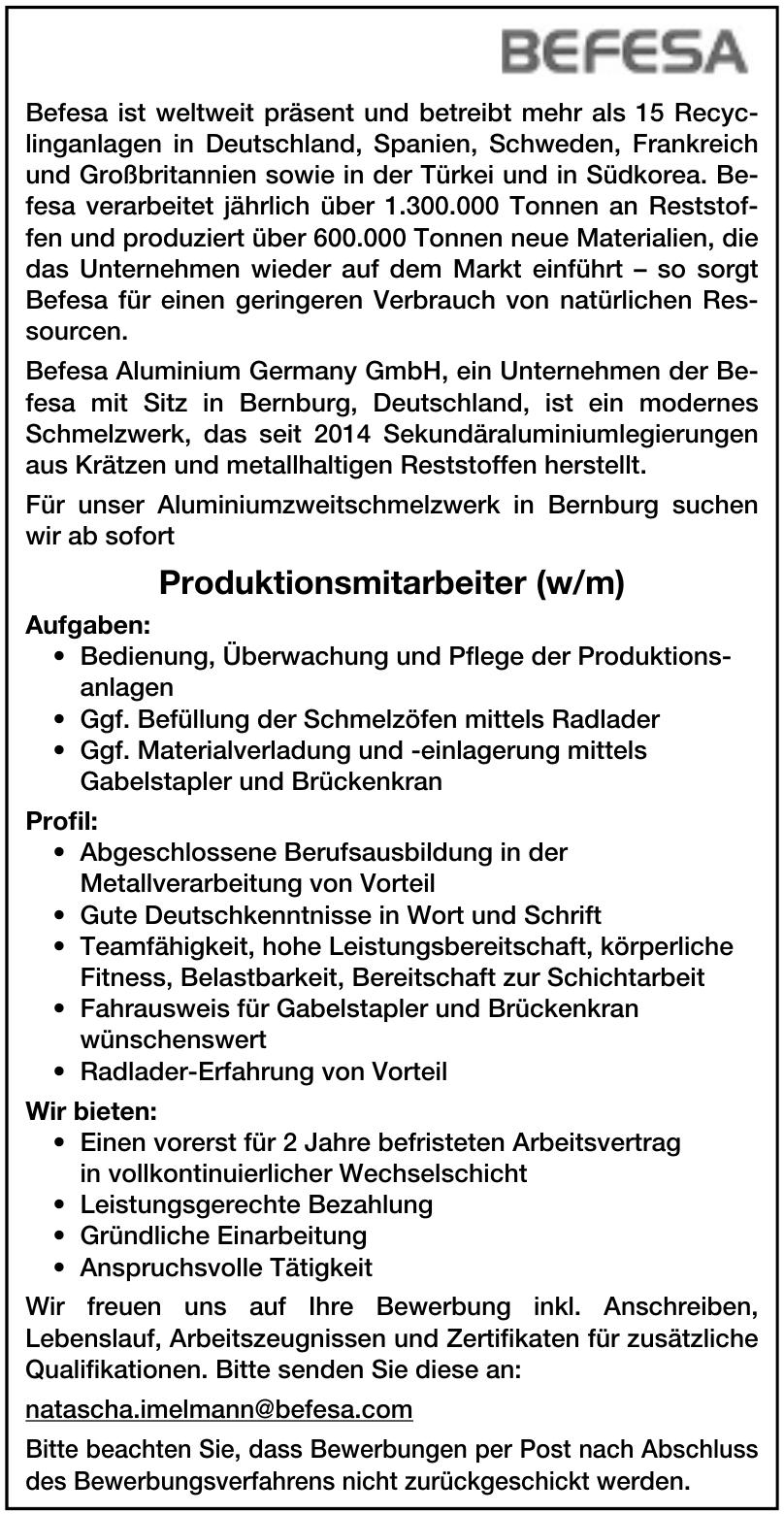 Befesa Aluminium Germany GmbH
