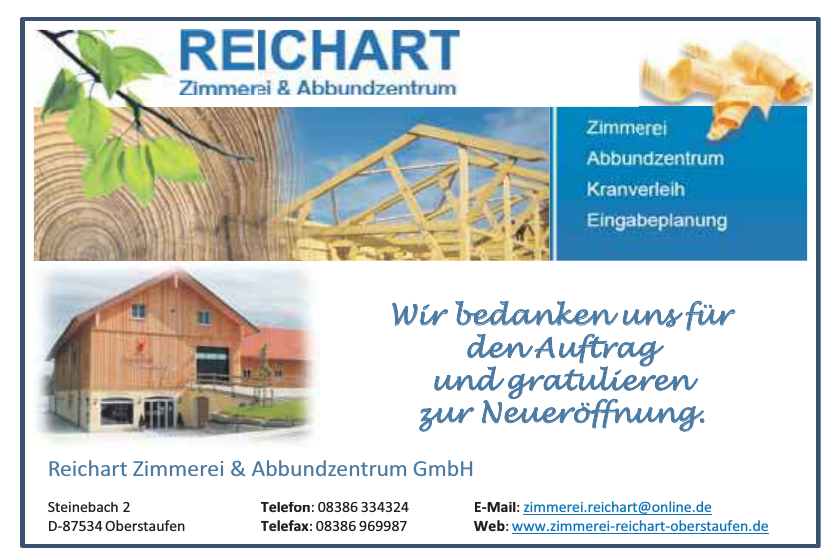 Reichart Zimmerei & Abbundzentrum GmbH