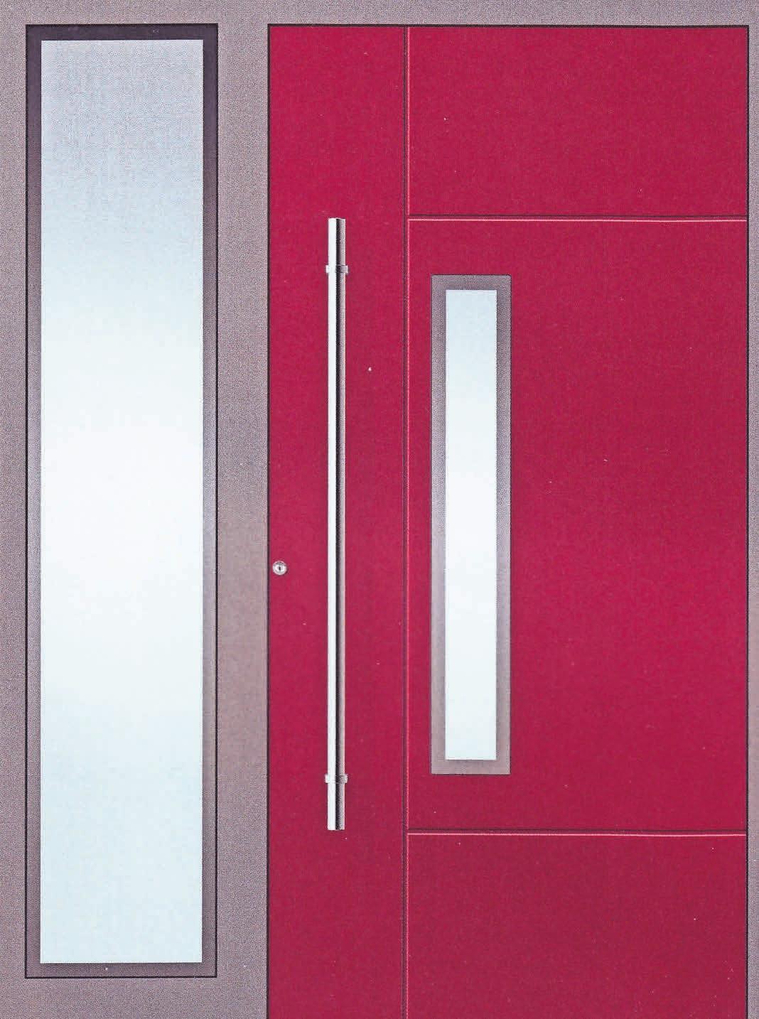 Eine hochwertige Hauseingangstür von KOMPOtherm vereint Sicherheit und Ästhetik.