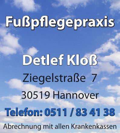 Fußpflegepraxis Detlef Kloß