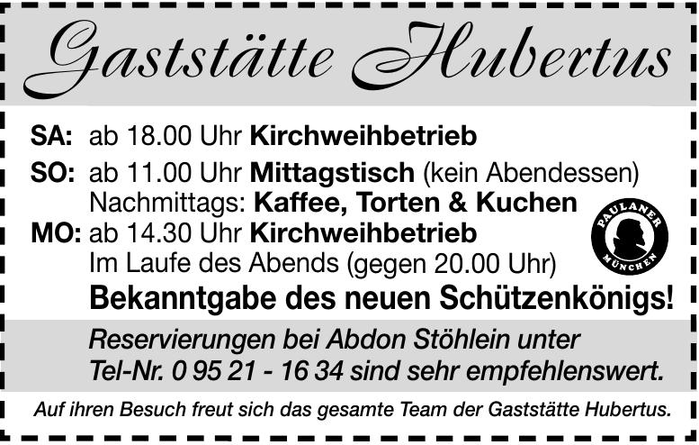 Gaststätte Hubertus