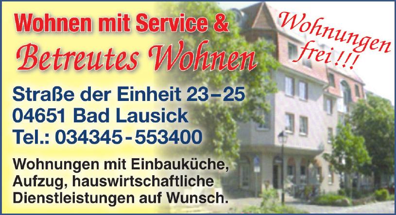 Wohnen mit Service & Betreutes Wohnen