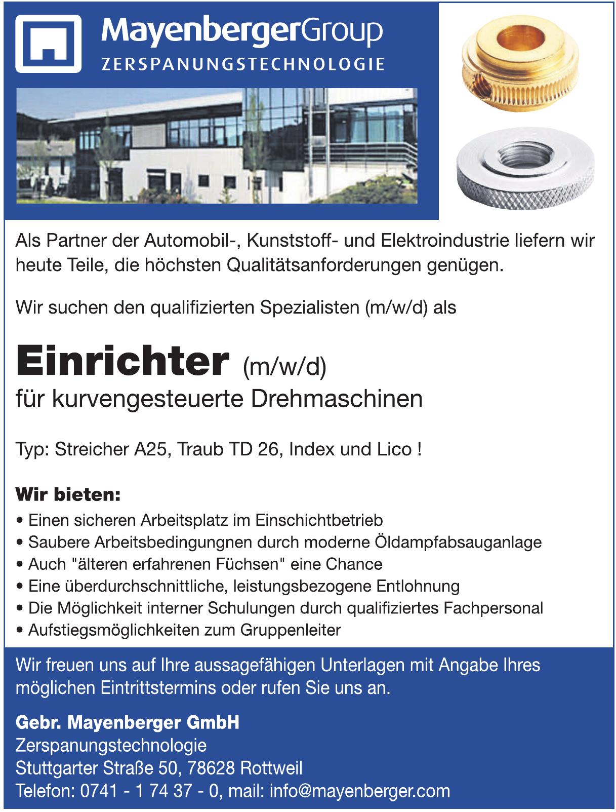 Gerb. Mayenberger GmbH