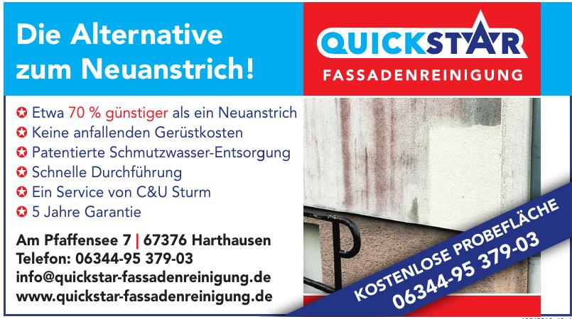 Quickstar Fassadenreinigung