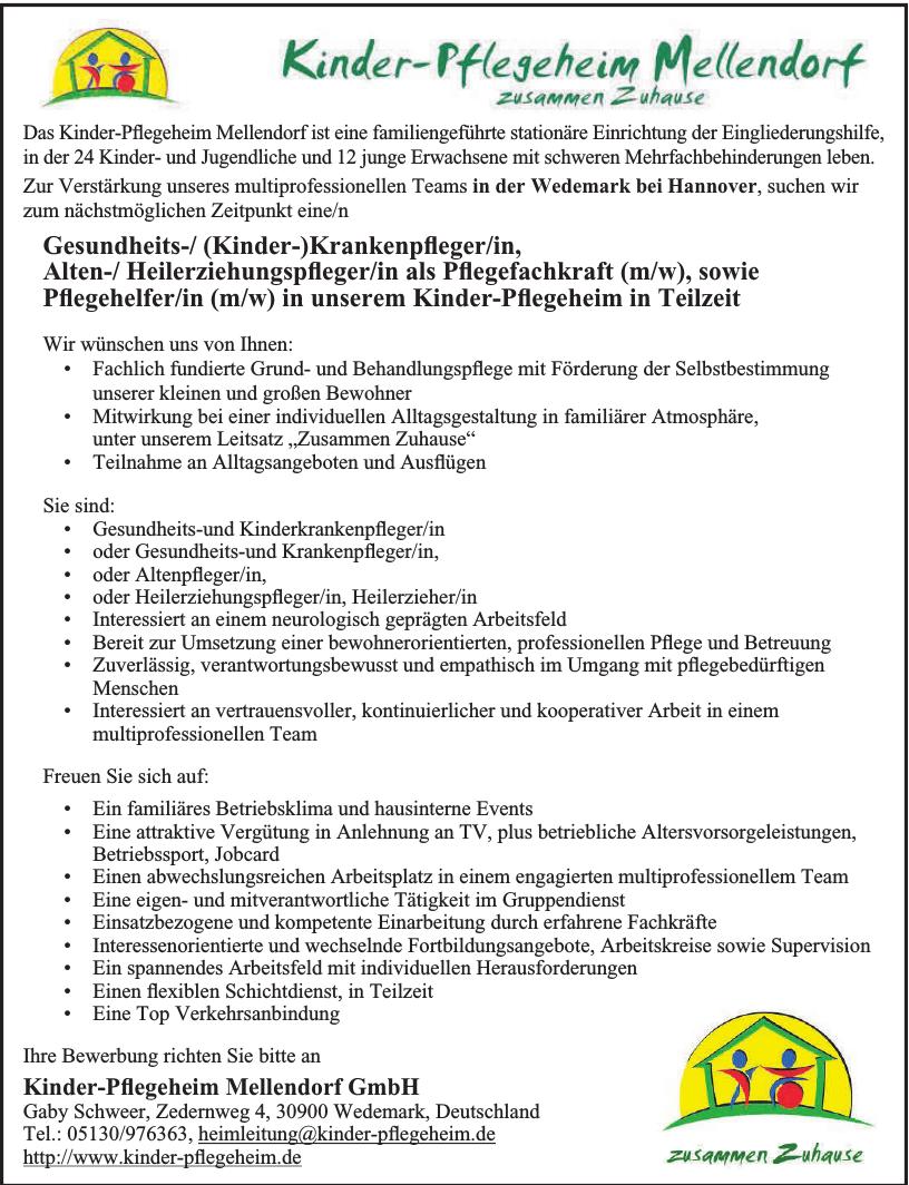 Kinder-Pflegeheim Mellendorf GmbH