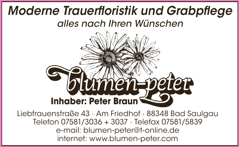 Blumen Peter