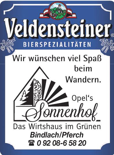 Veldensteiner - Opel´s Sonnenhof