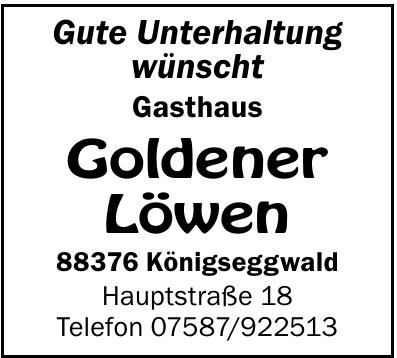 Gasthaus Goldener Löwen