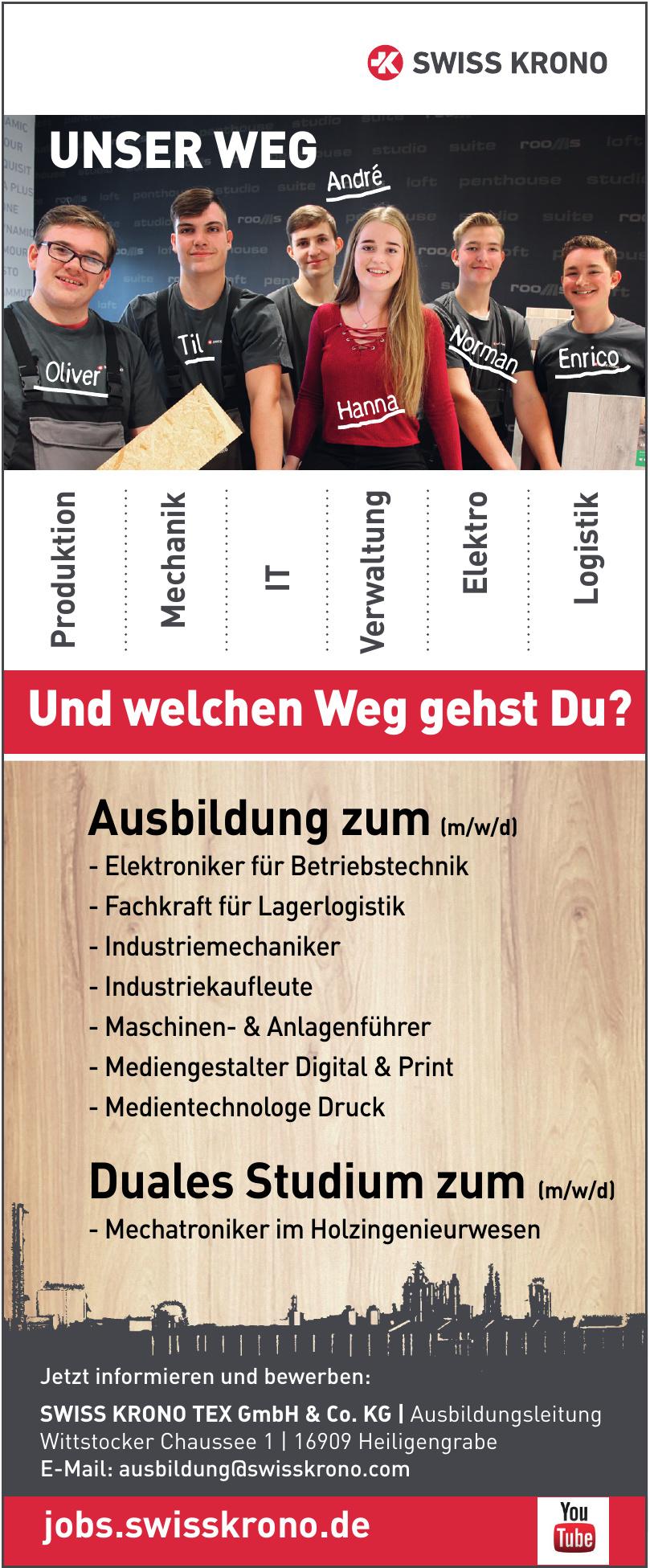 SWISS KRONO TEX GmbH & Co. KG