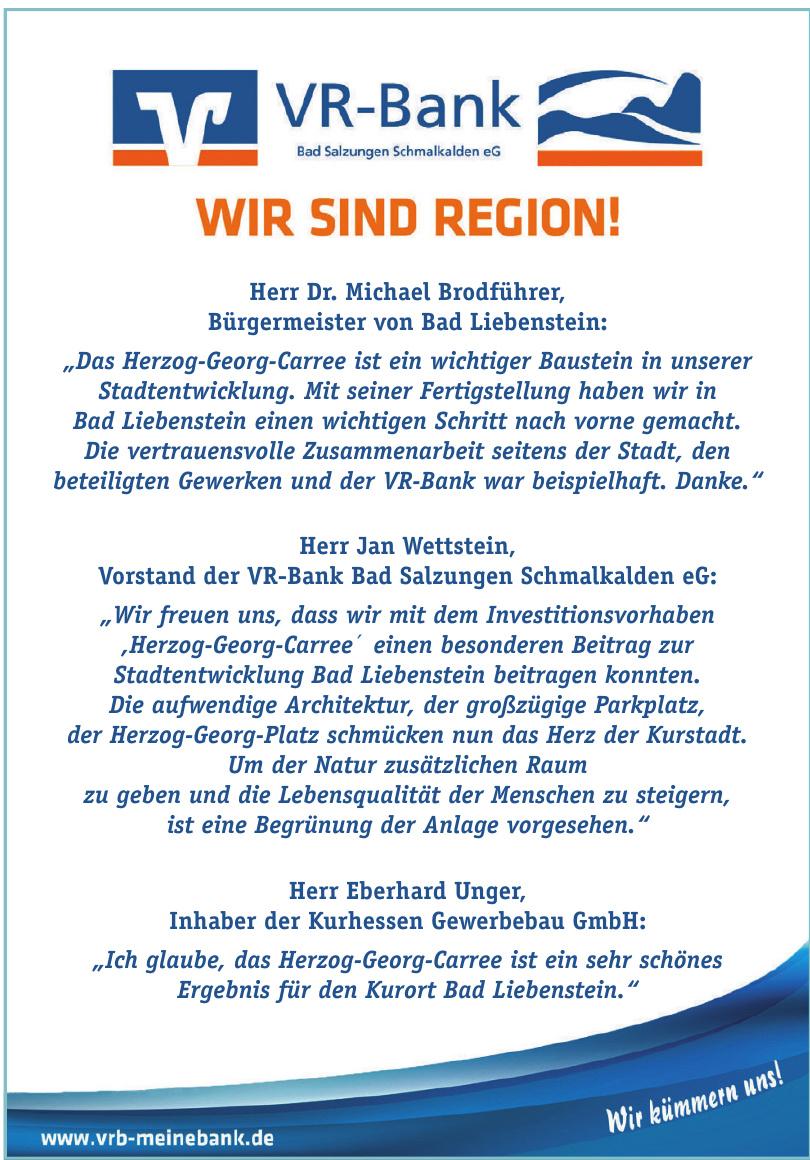 VR-Bank - Bad Salzungen Schmalkalden eG