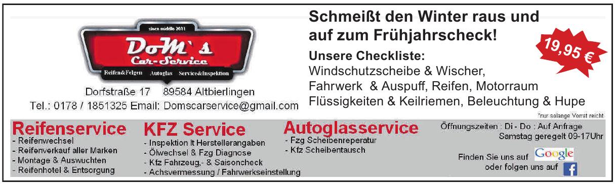 Dom´s Car-Service