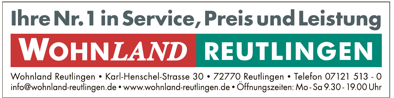 Wohnland Reutlingen GmbH & Co. KG
