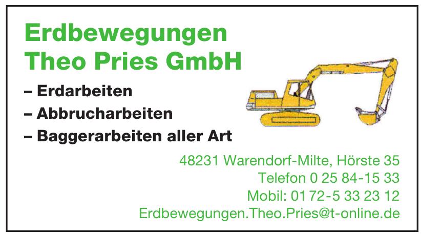 Erdbewegungen Theo Pries GmbH