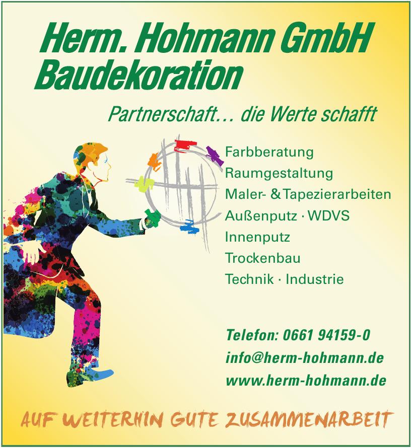 Herm. Hohmann GmbH Baudekoration