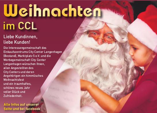 Weihnachten im CCL